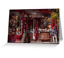 New York -  Store - Greenwich Village - Il Cantuccio  Greeting Card