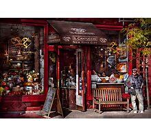 New York -  Store - Greenwich Village - Il Cantuccio  Photographic Print