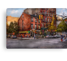 New York - City - Corner of One way & This way  Canvas Print