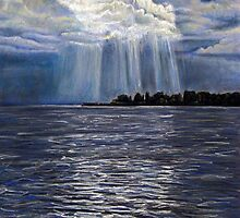 Lake Geneva, Montreux by Valentina Henao