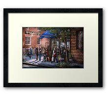 New York - Store - Greenwich Village - Jefferey's  Framed Print