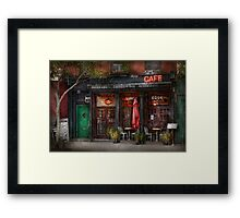 New York - Store - Greenwich Village - Sweet Life Cafe Framed Print