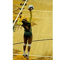 Serving Match Point Photographic Print
