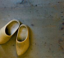 Wooden Clogs by Gisele Bedard