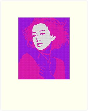 Chinese Woman Pink by OTIS PORRITT