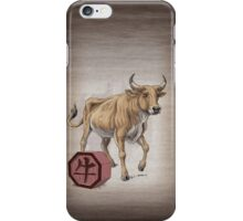 Year of the Ox iPhone Case/Skin