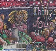 Things Found Under Car Seats -Front Cover (The Sketchbook Project 2012) by Penny Lewin - Hetherington