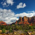 The Hills of Sedona  by Saija  Lehtonen