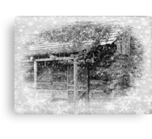 I'll be home for Christmas... © Canvas Print