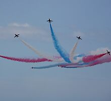 The Red Arrows 3 by Tony Steel
