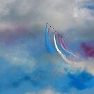 The Red Arrows 8 by Tony Steel