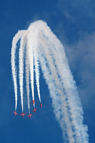 The Red Arrows 13 by Tony Steel