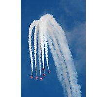 The Red Arrows 13 Photographic Print
