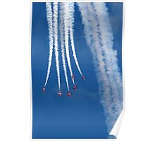 The Red Arrows 14 Poster