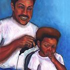 Not in the Mood for a Haircut by Alga Washington