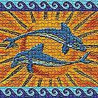 Dolphin Mosaic by Antonio Palao