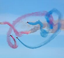 The Red Arrows 20 by Tony Steel