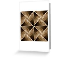 Pattern 22 Greeting Card