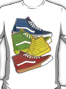 MULTI-COLOR VANS SNEAKERS T-Shirt