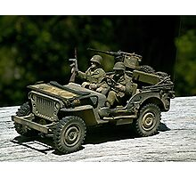 JEEP  -  1942 WILLY'S MB. Photographic Print