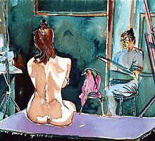 Drawing Nude Class by ivDAnu