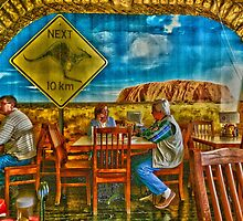 An afternoon lunch at the café by Scott Mitchell