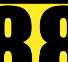 Crazy 88 Sticker