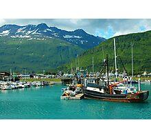 Valdez Alaska Photographic Print