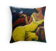 """The Healing Process - from """"The Eternal WHYs"""" series  Throw Pillow"""