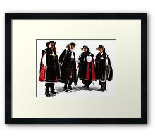 Four Brothers Framed Print