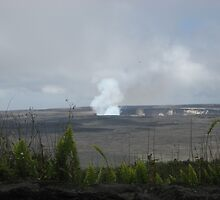 Madame Pele on the Big Island by Cawritergirl