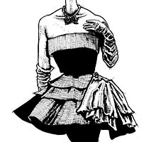 Paris Fashion 1950 by AOConnor