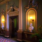 The Hallway - Werribee Mansion by Hans Kawitzki