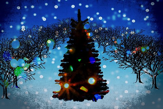 Christmas comes but once a year. by Lynne Haselden