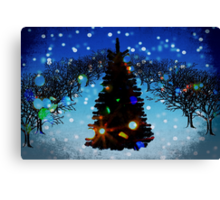 Christmas comes but once a year. Canvas Print
