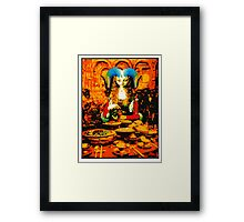 Hard Headed Woman Framed Print