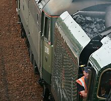 Duke of Gloucester - Loco 71000 - close up! by Tony Steel
