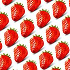 Juicy Strawberries by cerio