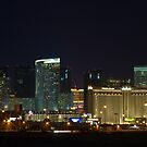 MGM City Center at Night by Henry Plumley
