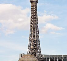 Eiffel Tower Paris Hotel Casino by Henry Plumley