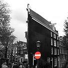 Slim buildings Amsterdam by patjila