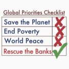 Global Priorities Checklist by Dave Sag