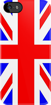 Union Jack iPhone Case by houseofthesith