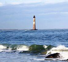 *Lighthouse Photo Painting* by DeeZ (D L Honeycutt)