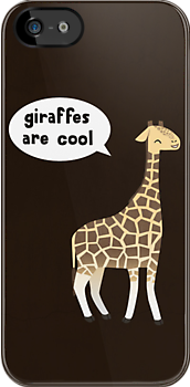 Giraffes are cool by Damien Mason
