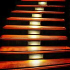 Stairway Suspended by Barbara  Brown
