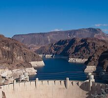 Hoover Dam Looking North by Henry Plumley