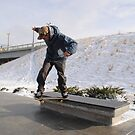 -11 BELOW; Skateboarding in Winter by cxskate