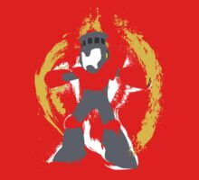 Robot Master Fire Man Vector Design T-Shirt
