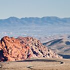 Las Vegas From Red Rock Canyon by Henry Plumley